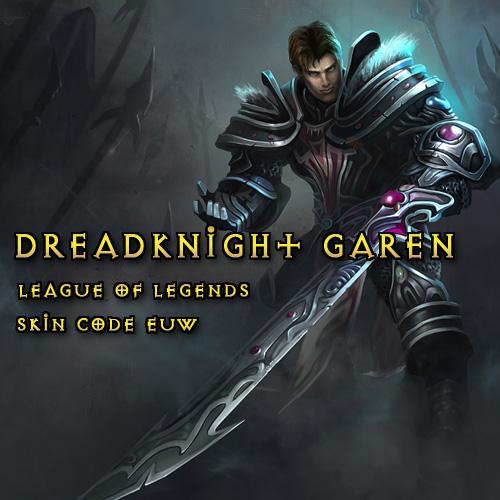 Riot Dreadknight Garen League Of Legends Skin EUW Gamecard Code Kaufen Preisvergleich