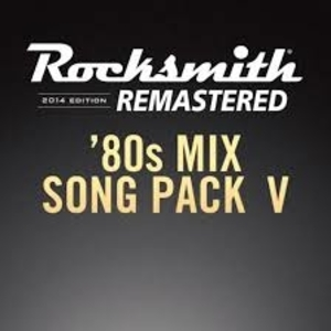 Rocksmith 2014 80s Mix Song Pack 5