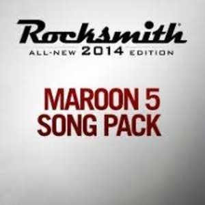 Rocksmith 2014 Maroon 5 Song Pack