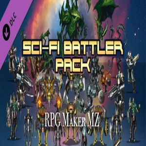 RPG Maker MZ Sci Fi Battler Pack