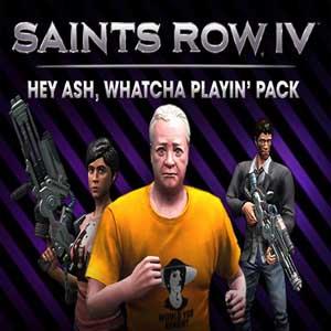 Saints Row 4 Hey Ash Whatcha Playin Pack