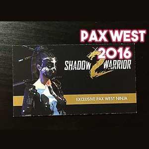 Shadow Warrior 2 Pax West Ninja Key Kaufen Preisvergleich