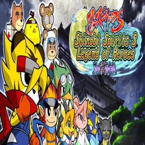 Shinobi Spirits S Legend of Heroes