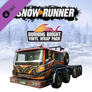 Kaufe SnowRunner Burning Bright Vinyl Wrap Pack PS4 Preisvergleich