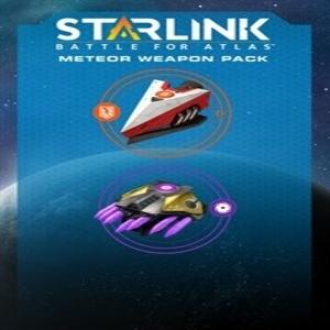 Starlink Battle for Atlas Meteor Weapon Pack