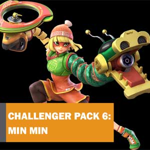 Super Smash Bros Ultimate Challenger Pack 6 Min Min