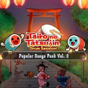Taiko no Tatsujin Drum Session Popular Songs Pack Vol 2