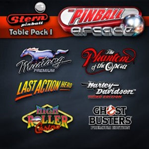 The Pinball Arcade Stern Table Pack 1