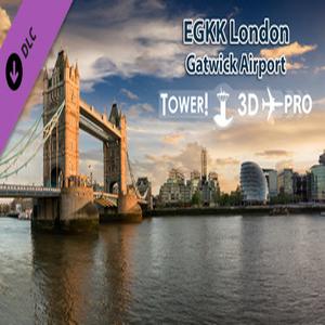 Tower 3D Pro EGKK airport