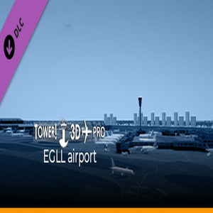 Tower 3D Pro EGLL airport