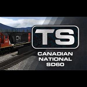 Train Simulator Canadian National SD60 Loco Add-On