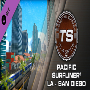 Train Simulator Pacific Surfliner LA San Diego Route