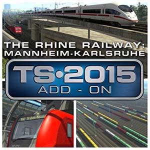 Train Simulator The Rhine Railway Mannheim Karlsruhe Route Add-On Key Kaufen Preisvergleich