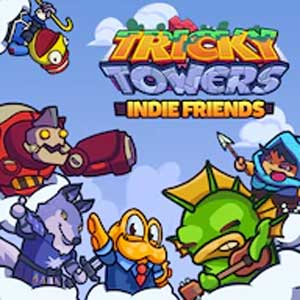 Kaufe Tricky Towers Indie Friends PS4 Preisvergleich
