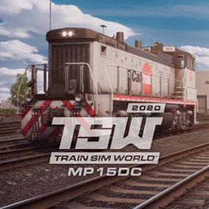 TSW Caltrain MP15DC Diesel Switcher Loco Add-On