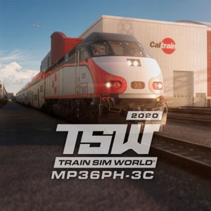 TSW Caltrain MP36PH-3C Baby Bullet Loco Add-On