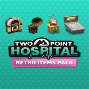 Two Point Hospital Retro Items Pack