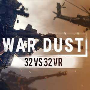 WAR DUST 32 VS 32 BATTLES VR