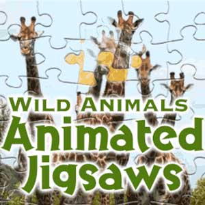 Wild Animals Animated Jigsaws