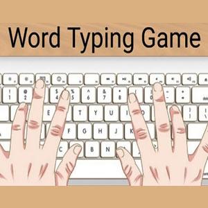 Word Typing Game