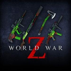 Kaufe World War Z Biohazard Weapon Pack PS4 Preisvergleich