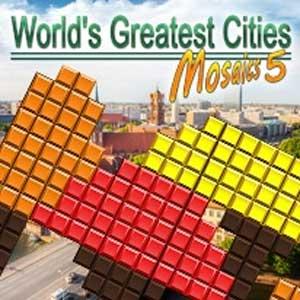 Worlds Greatest Cities Mosaics