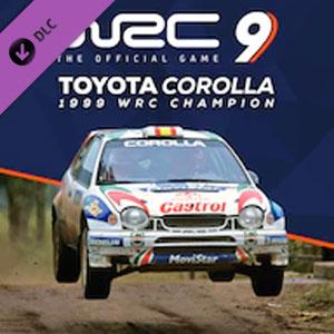 WRC 9 Toyota Corolla 1999