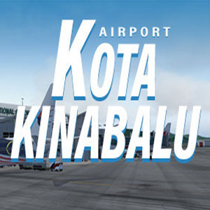 X-Plane 11 Add-on JustAsia WBKK Kota Kinabalu Airport