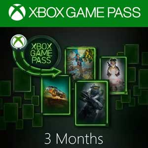 Xbox Game Pass 3 Monate