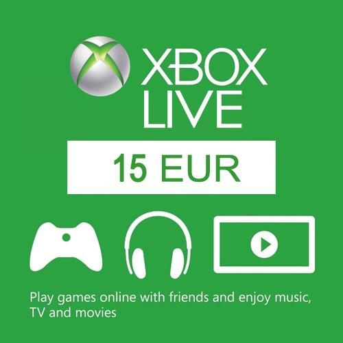 15 Euro Card EU Xbox Live Code Kaufen Preisvergleich