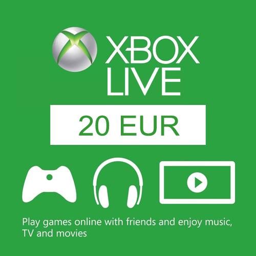 20 Euro Card EU Xbox Live Code Kaufen Preisvergleich