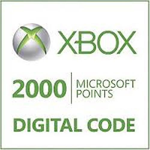 2000 Microsoft Punkte Xbox Live Code Kaufen Preisvergleich