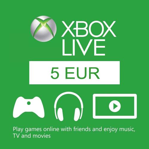 5 Euro Card EU Xbox Live Code Kaufen Preisvergleich