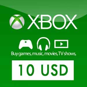 Xbox Live US 10 USD Card