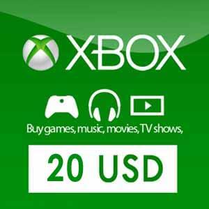 US 20 USD Card Xbox Live Code Kaufen Preisvergleich