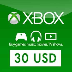 US 30 USD Card Xbox Live Code Kaufen Preisvergleich