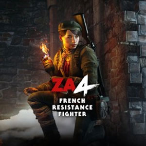 Zombie Army 4 French Resistance Fighter Character