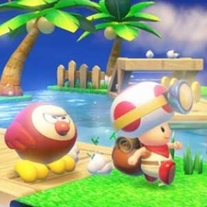 Captain Toad Treasure Tracker Nintendo Wii U Characters