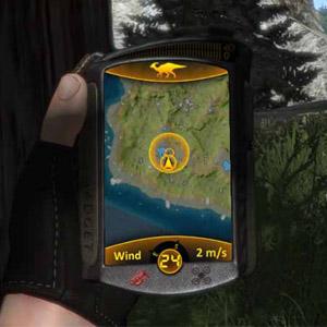 Screenshot: Verfolgen eines Dinosaurier-