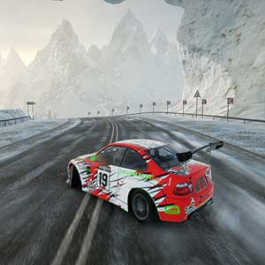 CarX Drift Racing Online Verschneite Strecke