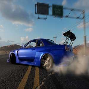 CarX Drift Racing Online Wüsten-Strecke