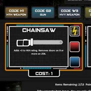 Chainsaw Warrior Ausrüstung