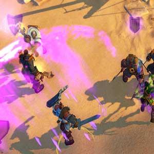 Anteria Kämpfen in der Wüste Pirates