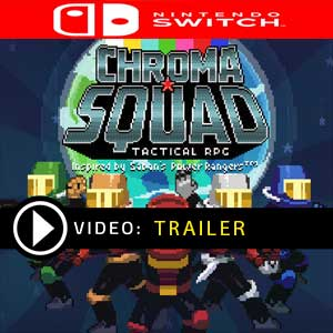 Chroma Squad Nintendo Switch Prices Digital or Box Edition