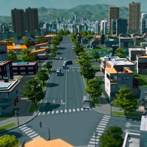 Cities Skylines Straßen im Stadtzentrum