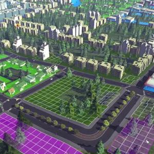 Cities Skylines Gebäude der Stadt
