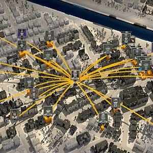 City of Gangsters Kriminelles Netzwerk