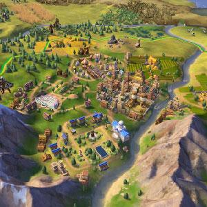 Civilization 6 Map