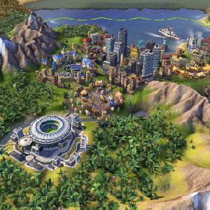 Zivilisation Entstapelung von Städten