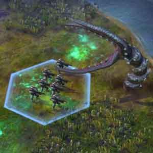 Kampf mit Alien Einwohner